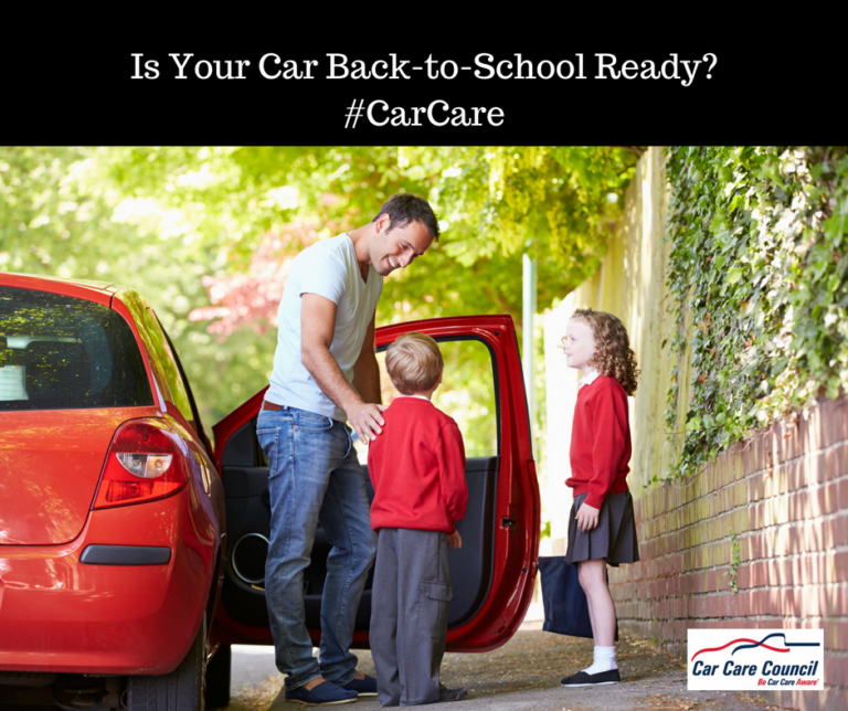 New Car Care Council Video Helps Get Your Vehicle Back-to-School Ready